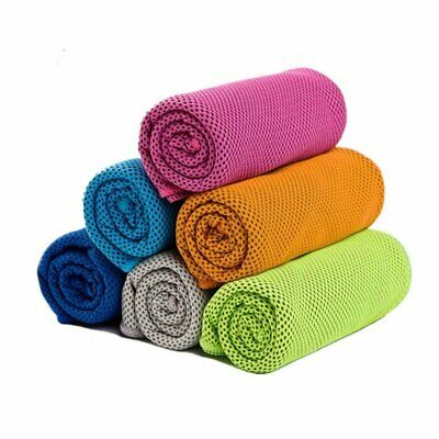 Instant Ice Cooling Towel for Sports Workout Fitness Gym Yoga Hiking Pilates Camping & Hiking