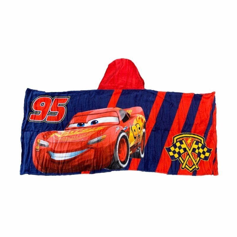 """Cars """"Lightening McQueen"""" Kids Hooded Towel"""