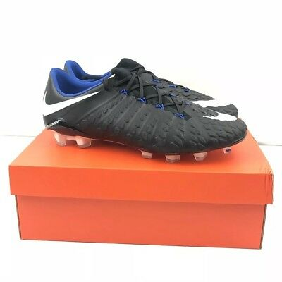 new style 33e70 88933 Nike Mens Black Hypervenom Phantom III FG ACC 852567 002 Cleats Size 10.5