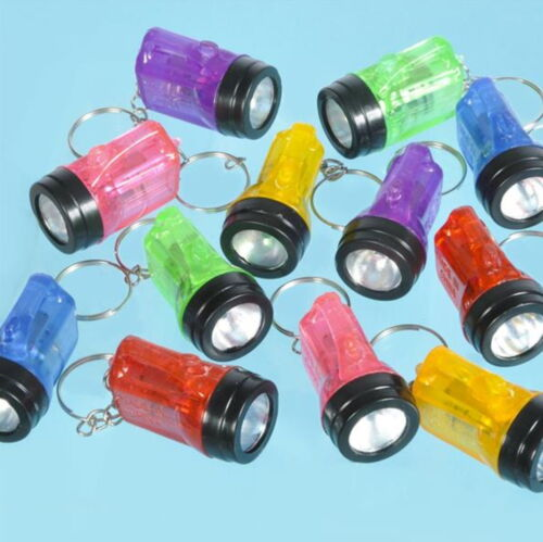 96 Flashlight Key Chain Bulb Keychains Mini Flash Lights Bulk Wholesale Wedding