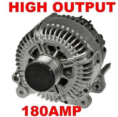 ALTERNATOR 180 AMP HIGH OUTPUT VW MULTIVAN & TRANSPORTER T5 T6 2.0 TDi 2010-2016