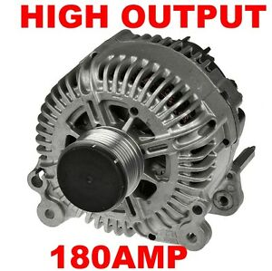 180AMP HIGH OUTPUT/POWER ALTERNATOR ICE/MOTORHOME/SPLIT CHARGE