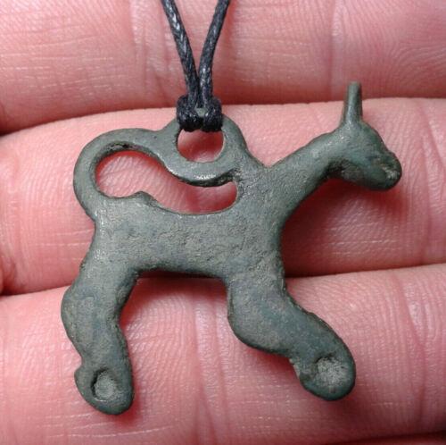 Bronze Horse, Celtic Amulet Pendant.