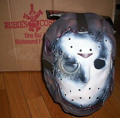 Jason Vorhees Friday the 13th 3/4 ADULT DELUXE MASK - One Size - FREE SHIPPING