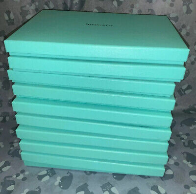 Tiffany Boxes Wholesale (Wholesale / Retail Lot Of 9 Authentic Empty Slim Tiffany & Co. Boxes)