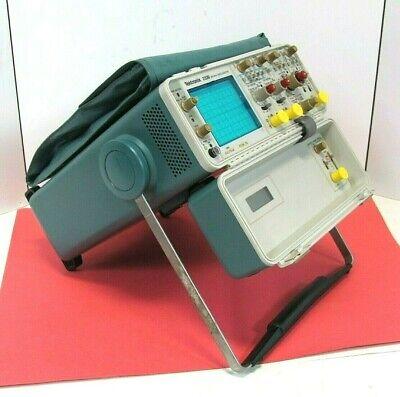 Tektronix 2336 100 Mhz 2 Channel Oscilloscope Good Working