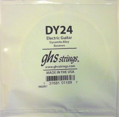 GHS Cuerda de Guitarra Eléctrica 024w