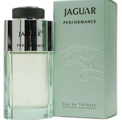 Jaguar Performance 3.4 oz / 100ml EDT Eau De Toilette Spray Men Perfume Cologne/