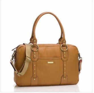 Storksak Elizabeth Leather Nappy Bag