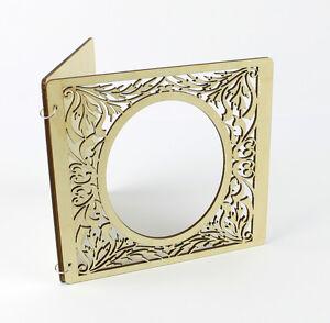 d coup en laser bois invitation carte invitation mariage c r monie baby shower ebay. Black Bedroom Furniture Sets. Home Design Ideas