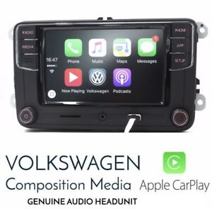 Volkswagen radio carplay Android auto new , oem vw