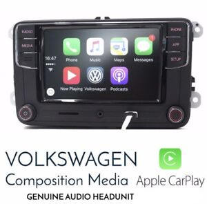 Volkswagen oem radio with Carplay & Android Auto and bluetooth