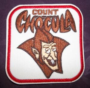 COUNT CHOCULA  PATCH MONSTER BREAKFAST  CEREALS BOO BERRY FRANKEN BERRY VAMPIRES
