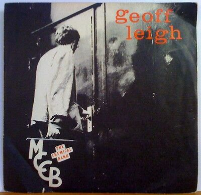 Geoff Leigh   Chemical Bank   7  Vinyl W Pic Slv   Henry Cow   Red Balune