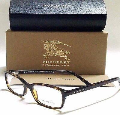 New Authentic BURBERRY BE2073 3002 Tortoise Full Rim 51mm Women's RX Eyeglasses