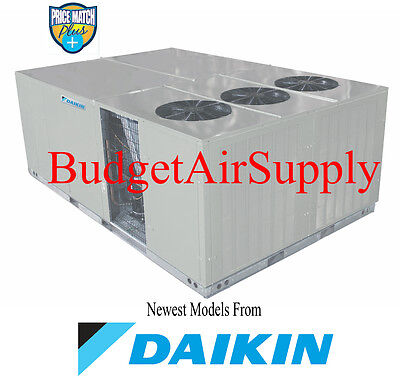 DAIKIN Commercial 15 ton (208/230v)3 phase 410a 350K BTU GAS/Elec Package Unit