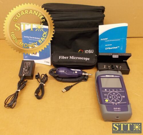 Olp-82 Jdsu Smartclass Fiber Power Meter & Microscope Kit