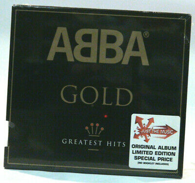 Abba Gold-Greatest hits  [CD] Music ONLY no booklet included Paper cover