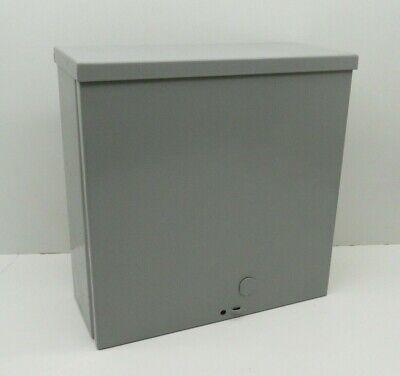 Milbank 10104-sc3r Screw Cover Nema Type 3r Outdoor Rainproof Enclosure 10x10x4