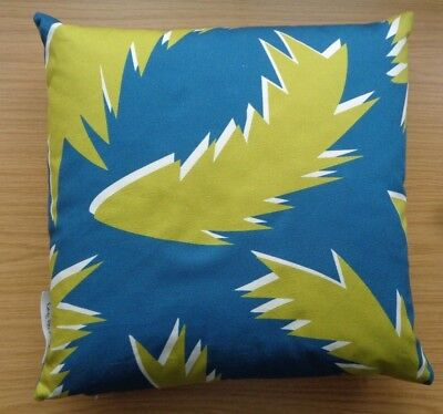 SUNNY TODD PRINTS CUSHION & FEATHER INNER PAD SIZE 45 x 45CM MULTI RRP £55.00
