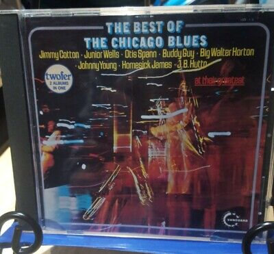The Chicago Blues, The Best Of - Various Artists, Buddy Guy (CD 1987)LIKE