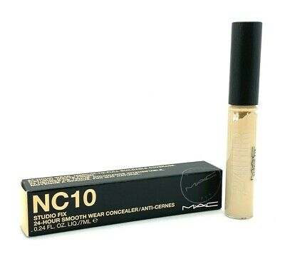 Mac Studio Fix Smooth Wear Concealer ~ NC10 ~ .24 oz BNIB, used for sale  Shipping to India