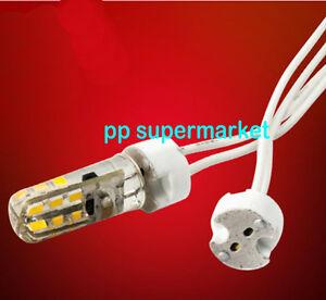 mr16 mr11 gu5 3 g4 halogen led bulbs holder base socket wire connector 1 50pcs ebay. Black Bedroom Furniture Sets. Home Design Ideas