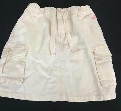Cargo Girls Skirt - Gap Kids Girls Cargo Skirt 8 Reg Linen Blend Adjustable Waist Multi Pocket