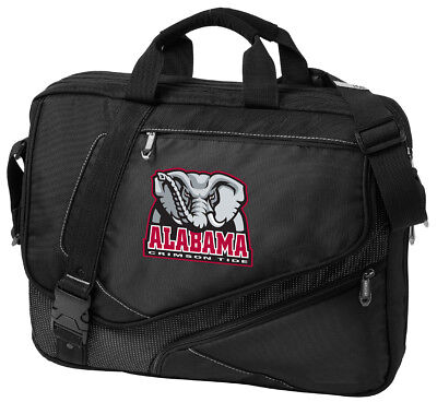 Alabama Laptop Computer Bag LOADED with FEATURES! BEST UNIVERSITY OF ALABAMA