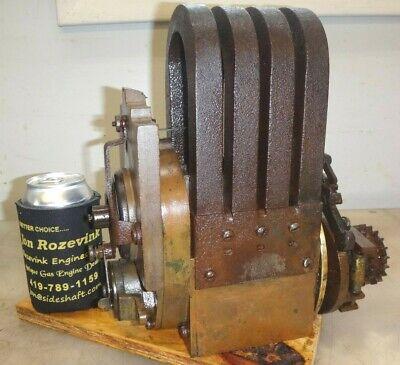 K-w Model Hk 2 Cylinder Magneto Antique Tractor Old Car Engine Kw Mag