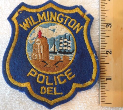 WILMINGTON DELAWARE POLICE PATCH (SHERIFF, HIGHWAY PATROL, STATE POLICE)