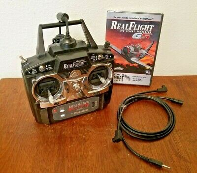 REALFLIGHT REAL FLIGHT G 5 BRAND NEW SEALED, WITH USED INTERLINK CONTROLLER
