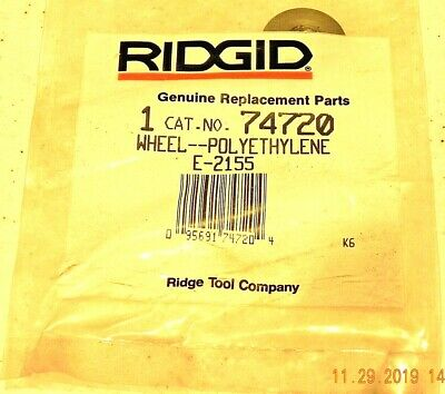 Lot Of 2 Ridgid 74720 - E2155 Cutoff Wheel For Polyethylene Replacement For 153