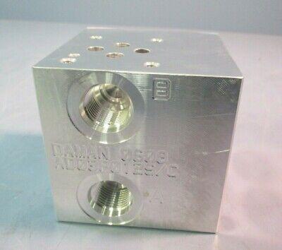Daman Valve Manifold Block AD03P012S/C