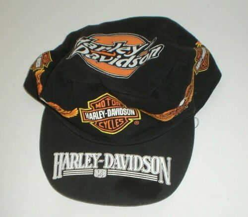 Vintage Harley-Davidson Motorcycles Trucker Hat H-D O.L.P. (One Size Fits All)