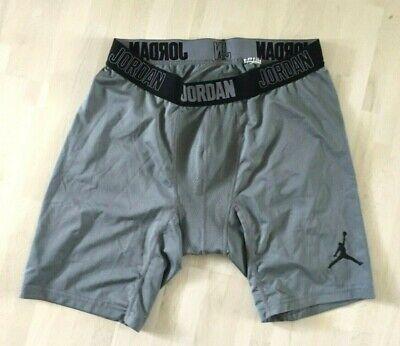 Nike Dri-fit Compression Shorts (NIKE Jordan Flight Compression Pants Shorts Training grau/grey Dri-Fit Gr. XL )