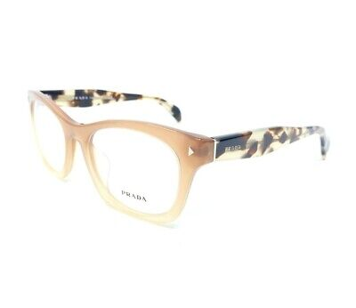 Prada eyeglasses Rx VPR 11S-F UBI-1O1 Brown Tortoise 53[]19 140mm