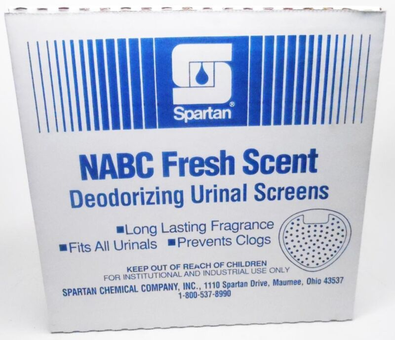 Spartan NABC 12 Fresh Scent Deodorizing Urinal Screens With Gloves