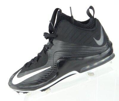 Nike Air Max Mvp Elite Ii Men Size 8 Black White3 4 Baseball Cleats 684687 010