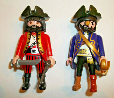 Playmobil,PIRATES,LOT OF 2 ,BRAND NEW,Peg Leg,Black Beard Make Pirate Peg Leg