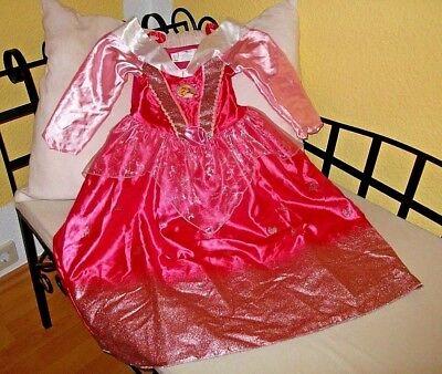 Disney Dornröschen Kostüme (Disney Princess Dornröschen Kleid Kostüm Faschingskostüm Gr. 116)