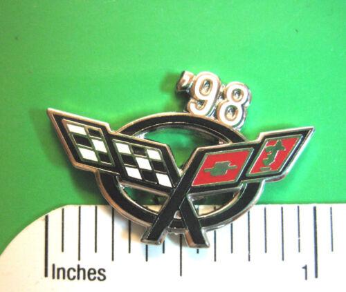 1997 - 2004 C5 , C - 5 , C-5 CORVETTE - hat pin , tie tac , lapel pin GIFT BOXED