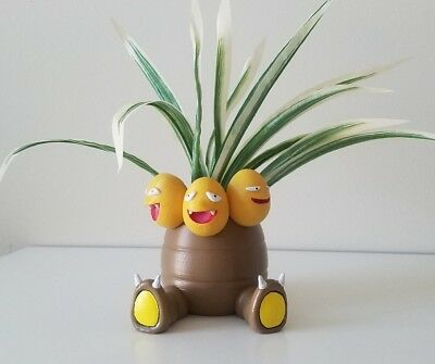 Pokemon GO Exeggutor Planter Flower Pot - Gamer Birthday Christmas Gift Idea