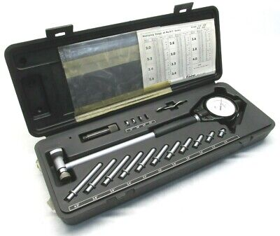 Clean Mitutoyo 2.0 To 6.0 Dial Bore Gage - .0001 Grads - 511-166