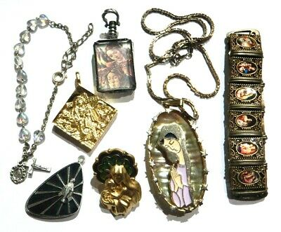 Russian Vintage 40 Pin Collection 10K  15K Gold and Metal