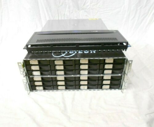 EMC Isilon X400 Storage System chassis Node 48GB RAM 36 TRAYS NO OS, Supermicro