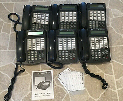 Vodavi Starplus Sts Commerical 24 Button Business Phone Lot Of 6 - 3515-71