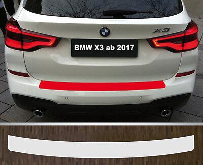 Lackschutzfolie Ladekantenschutz transparent BMW X3 Typ G01, ab 2017