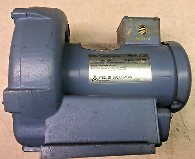 Egg Rotron Regenerative Blower Model Dr202y72