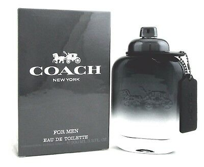 Coach New York Cologne For Men 3 3 Oz Edt Spray  New In Retail Sealed Box